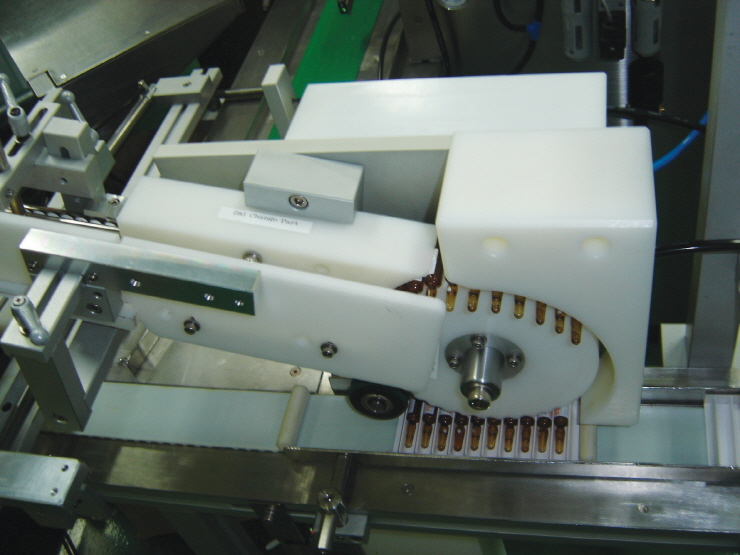 Automated packaging for ampoule